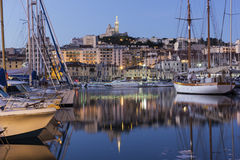 Marseilles in the morning Stock Image
