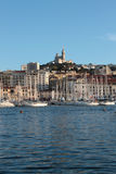 Marseilles port Stock Photos