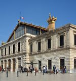 Marseilles Railway Station, Provence France Stock Images
