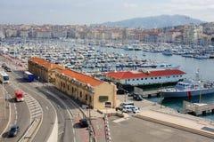 Marseilles Vieux Port Stock Photos