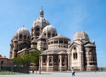 Marselha Catedral de la Principal Imagens de Stock Royalty Free
