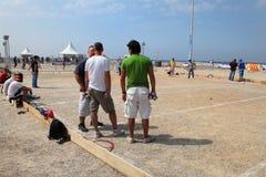 Marselha França - 20 de agosto 2012 Esportes & recreação Grou Foto de Stock Royalty Free