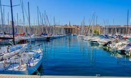 Marsella el Port-2 viejo fotografía de archivo