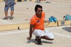 Marsella Francia - 20 de agosto 2012 Deportes y reconstrucción Fotos de archivo