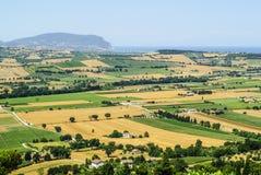 Marsen (Italië) - Landschap Royalty-vrije Stock Foto's