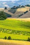 Marsen (Italië), landschap Royalty-vrije Stock Fotografie