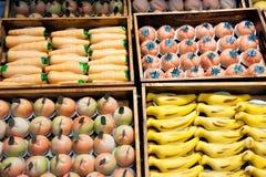 Marsepeinfruit en veg Royalty-vrije Stock Foto