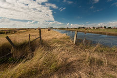 Marsh of Beauvoir-sur-mer, Vendee, France Stock Photos