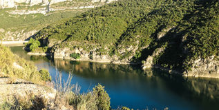 Marsh Camarasa, Catalonia province, Spain Royalty Free Stock Photo