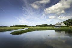 Marsh House - Essex, MA Lizenzfreie Stockbilder