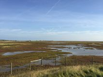 Marsh land East Sussex rye royalty free stock photo