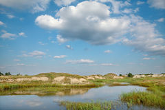 Marsh landscape Royalty Free Stock Photography