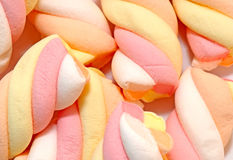 Marsh mallow background Royalty Free Stock Photos