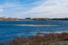 Marsh Point bij Necedah-Toevluchtsoord royalty-vrije stock afbeeldingen