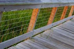 Marsh at Shem Creek Park Royalty Free Stock Images