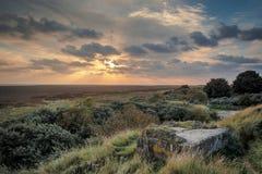 Marsh Sunrise Royalty Free Stock Images