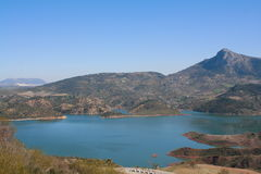 Marsh Zahara, Andalusia. immagine stock