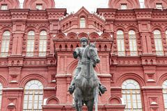 Marshal Zhukov Στοκ φωτογραφία με δικαίωμα ελεύθερης χρήσης
