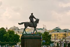 Marshal Zhukov Royalty Free Stock Photos