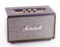 Marshall amp над белизной стоковые фотографии rf