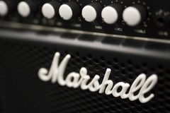 Marshall amplifier royalty free stock photo