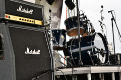 Marshall amps Stock Image