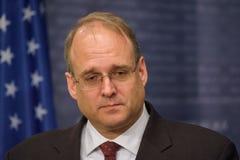 Marshall Billingslea, secrétaire auxiliaire pour le terroriste Financing photographie stock