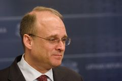 Marshall Billingslea, secr?taire auxiliaire pour le terroriste Financing image stock