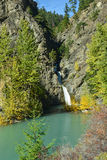 Marshall Creek Falls en Colombie-Britannique, Canada Image stock
