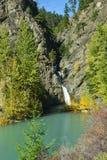Marshall Creek Falls no Columbia Britânica, Canadá Imagem de Stock