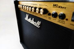 Marshall 30DFX Amplifier Stock Images