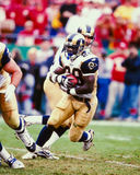 Marshall Faulk St. Louis Rams foto de stock royalty free