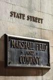 Marshall Field Chicago Fotografering för Bildbyråer