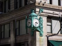 Marshall Field's Clock, Chicago Royalty Free Stock Photos