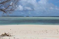 Marshall Islands Beach Royaltyfria Bilder