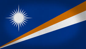Marshall Islands Flag Foto de Stock