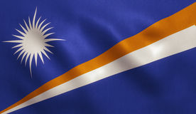 Marshall Islands Flag Lizenzfreie Stockbilder