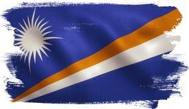 Marshall Islands Flag Lizenzfreie Stockbilder