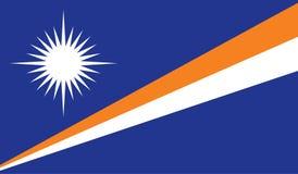 Marshall Islands flag image Stock Photo
