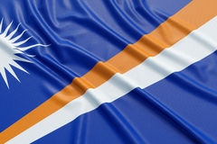 Marshall Islands flag Stock Images