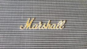 Marshall min högtalaremarshall på huset 18 Oktober 2015 Arkivfoton