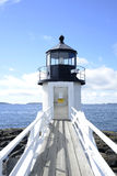 Marshall Point Lighthouse in Maine Stockbild