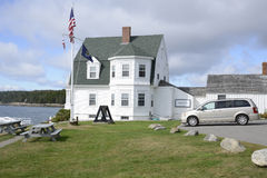 Marshall Point Lighthouse Museum in Maine stock image