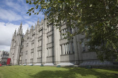 Marshall's College in Aberdeen, UK Stock Image