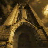 Marshall's College spire in Aberdeen Royalty Free Stock Image
