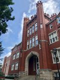 Marshall University Old Man Building foto de archivo