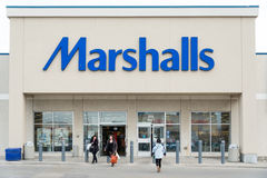 Marshalls Store Facade Stock Photography