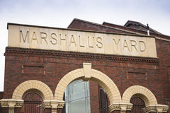 Marshalls yard shopping area,Gainsborough, Lincolnshire Stock Photo