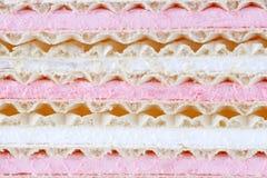 marshmallow γκοφρέτες στοκ εικόνες