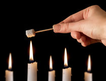 marshmallow μίνι ψήσιμο Στοκ φωτογραφία με δικαίωμα ελεύθερης χρήσης